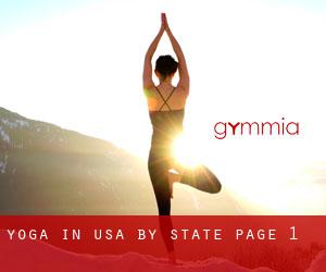 Yoga in USA by State - page 1